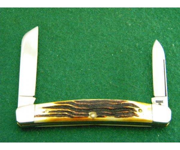 Case XX SS USA 6 Dot (1984) 2nd Cut Stag 52052 Congress Knife