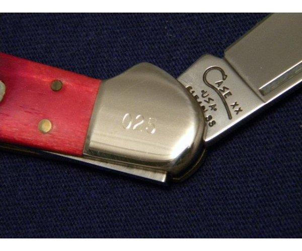 Case XX USA 1998 Red Saw Bone 61549L SS Copperlock Knife - SFO - NIB