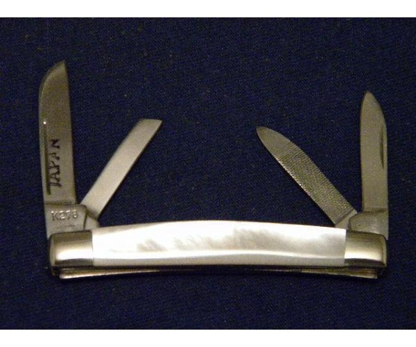 Parker Brothers Chattanooga, TN Japan K298 Pearl Little Congress Knife