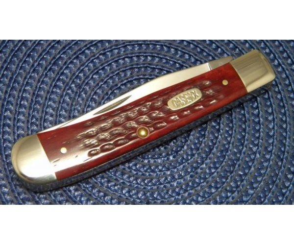 Case XX USA 3 Dot (1997) Bone 6254 SS Trapper Knife