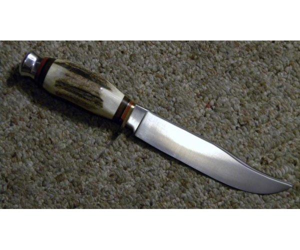Linder Messer Solingen Germany Stag Fixed Blade Sheath