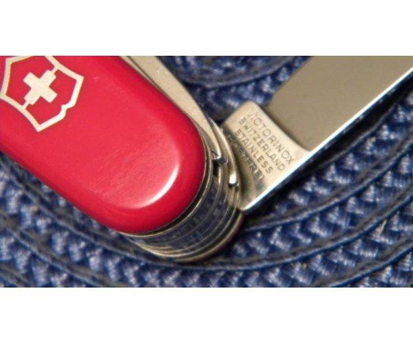 Victorinox Switzerland Stainless Rostfrei Red Craftsman