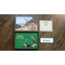 Remington USA Stag Canoe 1999 Wildlife Knife in Box