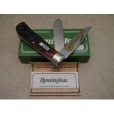 Remington USA Cartridge Bone R1128 Trapper Knife 1999 ATA Grand American in Box