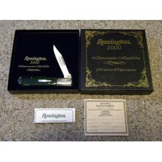 Remington Bullet Pearl Shield R1630 Lockback Millennium Knife 2000 in Box