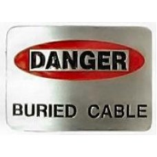 Danger Buried Cable 4561PC