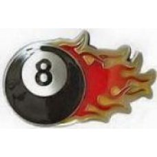 Flaming 8 Ball 4564PC
