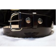 Handmade Leather Belt MotorcycleTooling- Made in the USA
