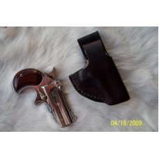 Handmade Leather  Holster For Small Revolvers (Dillinger) - See Gun List Below