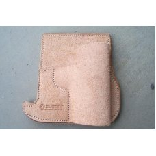 Custom Leather Front Pocket Holster - P3AT, LCP, P238, See Gun List Below