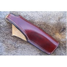 Handmade Leather Holster - Outside Waist Band- For Springfield 1911, See Gun List Below