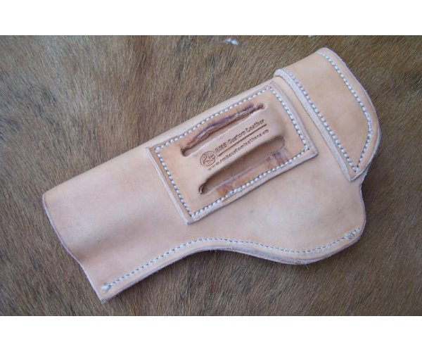 Custom Leather Gun Holster For Semi Autos - Browning Buckmark or S&W 22A-1, See Gun List Below