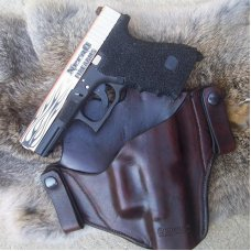 Custom Leather Holster For Automatics - IWB - Inside Waist Band , See Gun List Below