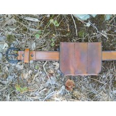 Custom Leather Triple Magazine Pouch with a Belt Clip - Browning Buckmark .22 or Other Autos