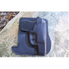 Custom Leather Front Pocket Holster  - ,Keltec P3AT,Ruger LCP,Sig Sauer P238, See Gun List Below