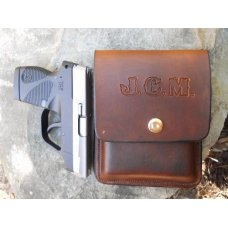 Custom Leather Concealment Holster - TCP,P3AT,LCP,P238,  See Gun List Below