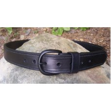 Custom Leather Reinforced Shooter's Belt  1/4