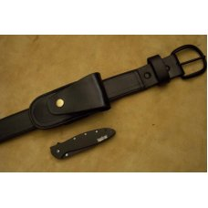 Leather Sidewinder Knife Pouch -  Fits Knives Up to 5
