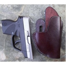 Custom Leather Holster Outside Waist Band (OWB) - ,P3AT,LCP, P238, See Gun List Below