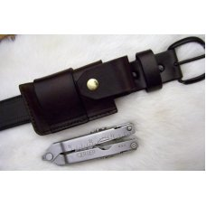 Custom Leather Case Large Sidewinder  - Fits Leatherman & Gerber Tools