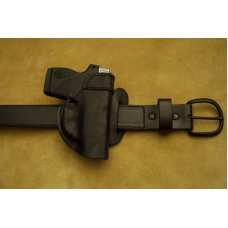 Custom Leather Holster Outside Waist Band (OWB) - , P3AT,LCP, P238, See Gun List Below