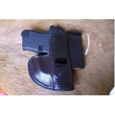 Custom Leather (IWB) Holster - Magazine Pouch - ,P3AT,LCP,P238,& Bodyguard .380,See Gun List Below