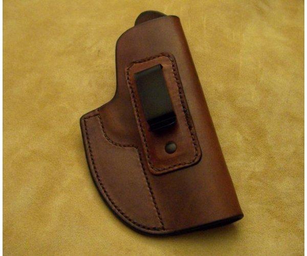 Custom Leather Inside Waist Band (IWB) Holster - Sig 1911 RCS - See Gun List Below