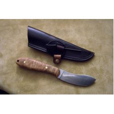 Custom Leather Knife Sheath Fixed Blades - Up to 11