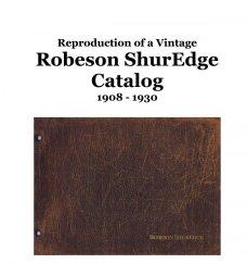 Robeson ShurEdge Catalog 1908 - 1930