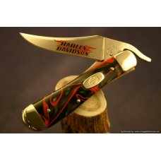 Case Harley-Davidson Lava Kirinite Russlock Knife  93-95