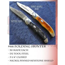Schatt  Morgan 44 Folding Hunter Burnt Orange Bone Short Run 1 of 50 602-612