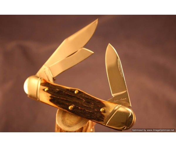 Schatt & Morgan #63 Keystone Series Railsplitter Knife. 590