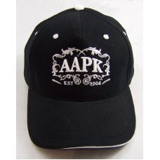 Black Colored All About Pocket Knives Hat  With  White Accents