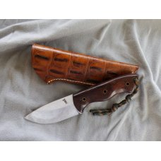 RANGER RK HUNTER KNIFE Custom Made by Justin Gingrich Desert Ironwood Handle