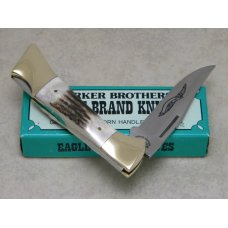 Parker Brothers Chattanooga, TN K266 Japan Genuine Stag Lockback Knife in Box