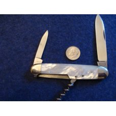 E. Bruckmann Mother of Pearl Bartender's Knife