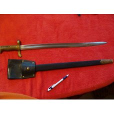 "Model 1862 ""Zouave"" Sword Bayonet (Authentic Reproduction)"