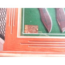 Canal Street 4 Knife Set D'Holder  Bowie's