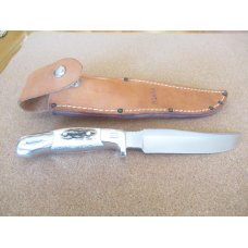 Ruana Fixed Blade Elk Handle  Model 27AC  Nice