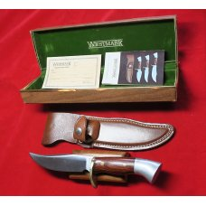 PRICE REDUCED!!  Westmark Western Custom Shop 702 Fixed Blade knife Boulder Colorado NIB