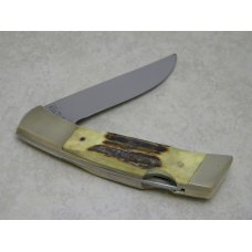 Gerber Portland, OR 97223 USA Stag Folding Sportsman II Lockback Knife & Pouch in Box