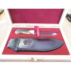 Queen Cutlery Joe Kious Hunter Stag # 7  Fixed Blade