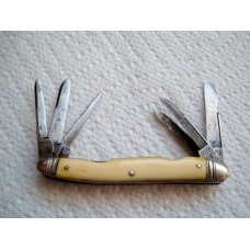 RARE OLD 1800's SHEFFIELD 6 BLADES