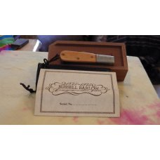 Russell   One Hundred Year Anniversary 2 Blade Barlow In wooden Presentation Box Serial Number 465