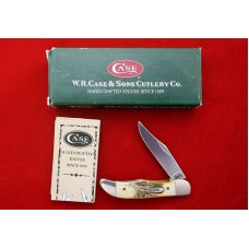 2000 Case XX Y2K Stag Handle Tiny Folding Hunter Pattern  THV51165 SSM NIB