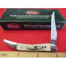 Case XX 2006  First Run Stag Tiny Texas Toothpick Pattern # 510096 SS