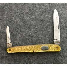 UTICA CUTLERY CO. UTICA N.Y.  -  Swell Center Serpentine Pen Knife