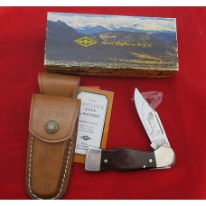 "Western USA S-534 ""B""  Westlock Lockback Knife Sheath & Box 1978  Rocky Mountain  Big Horn Sheep"
