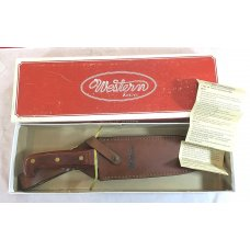 Western W49 Bowie Fixed Blade knife MINT in original box MINT