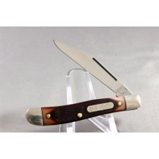 SCHRADE 12OT Pal Jack Knife, Saw Cut Delrin Handles, Original Box & Paperwork, Made In USA #3